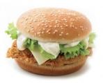 Сырный сэндвич с куриным филе