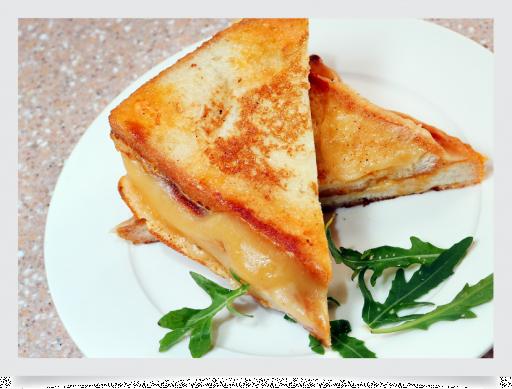 Сэндвич с сыром и картофелем айдахо