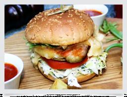 Бургер с курицей / Chicken burger