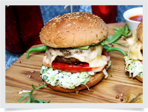 Бургер говяжий / Beef burger