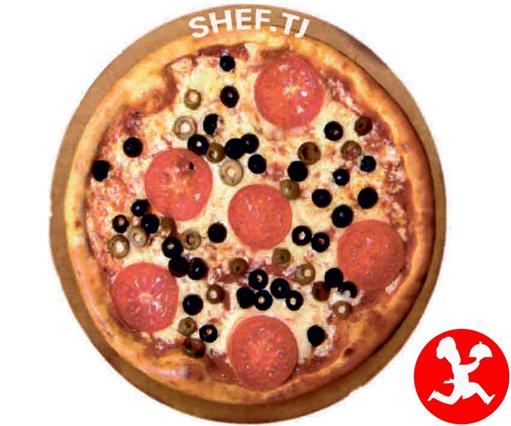 Пицца Cицилиано средняя