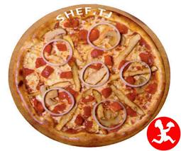 Пицца Аль-Крудо большая