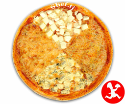 Пицца 4-сыра маленькая