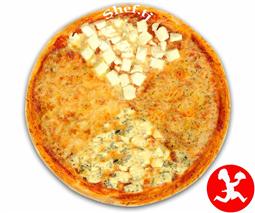 Пицца 4-сыра средняя