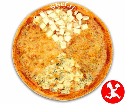 Пицца 4-сыра большая
