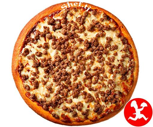 Пицца барбекю большая