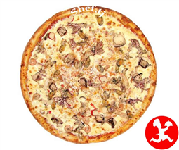 Пицца микс барбекю средняя
