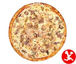 Пицца микс барбекю большая