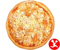 Пицца куринная cредняя