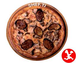 Пицца фунги большая