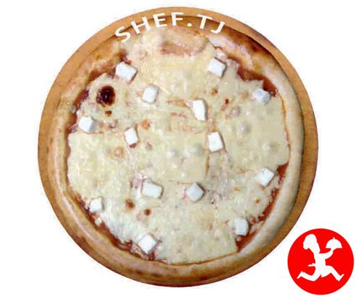 Пицца кватро формаджи средняя