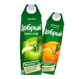 Сок добрый 1л
