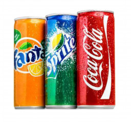 Напитки газированные в ассортименте ж/б