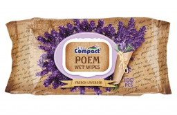Влажные салфетки poem lavender Compact 100шт
