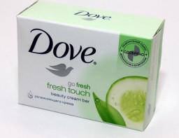 Крем-мыло огурец и зеленый чай Dove 100гр