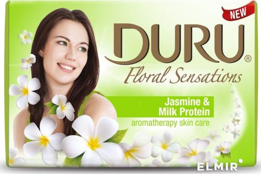 Туалетное мыло floral jasmin milk Duru 90гр