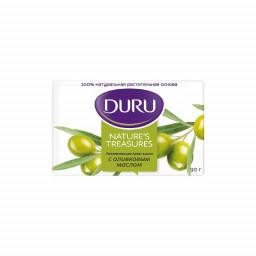 Туалетное мыло с оливковым маслом Duru 90гр