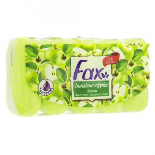 Туалетное мыло Fax 5х60гр