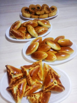 Пирожки ассорти