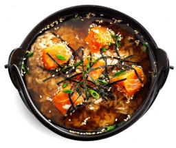 """Суп """"Сяке Тадзуки"""""""