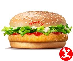 Чикенбургер с сыром