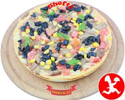 Пицца овощная маленькая